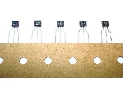 20 Pack 2sa1115 A1115 Original Mitsubishi Pnp Audio Transistors To92s Japan New