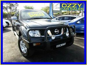 2006 Nissan Navara D40 ST-X (4x4) Grey 6 Speed Manual Dual Cab Pick-up Minto Campbelltown Area Preview