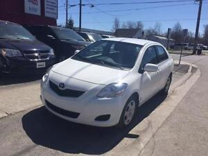 2012 TOYOTA YARIS SEDAN - CERTIFIED + WARRANYT & ACCIDENT FREE