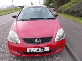 HONDA CIVIC 1.4 S HATCHBACK 54 REG,, CHEAP TRADE IN TO CLEAR,, MOT OCTOBER 2017