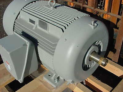 New Siemens 200 HP Electric Motor  Severe Duty 3575 RPM 447TS 1LE23214DA312AA3