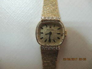 Classic LadiesRolex 14K Solid Gold Diamond Watch Circa1937-1940