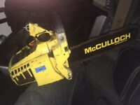 Vintage McCulloch Mac 120 Mini Mac Chainsaw