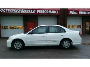 FACTORY NATURAL GAS CIVICS!!CLEARANCE ONLY $2700