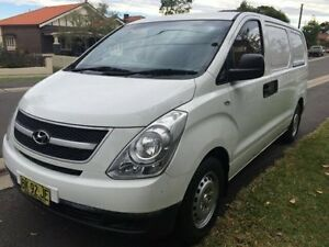 2011 Hyundai iLOAD  White Automatic Van Croydon Burwood Area Preview