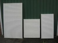 Central Heating Radiators.