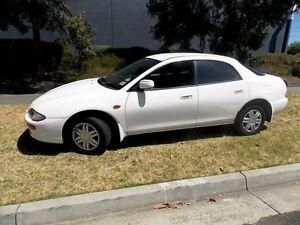 1998 Mazda 323 Astina White 5 Speed Manual Hardtop Melbourne CBD Melbourne City Preview