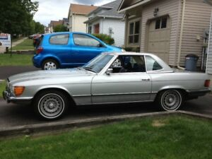 1972 Mercedes 450sl convertible