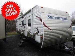 2013 Springdale Summerland 2980 RV Travel Trailer