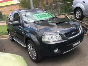 2006 Ford Territory SY Ghia Turbo (4x4) Grey 6 Speed Auto Seq Sportshift Wagon Campbelltown Campbelltown Area Preview