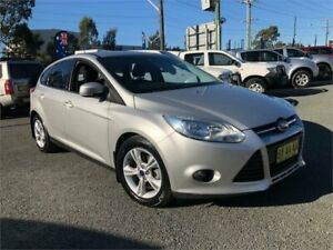 2013 Ford Focus LW MkII Trend Silver Sports Automatic Dual Clutch Hatchback Greystanes Parramatta Area Preview