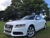 AUDI A4 SE TDI 6SP WHITE 2008