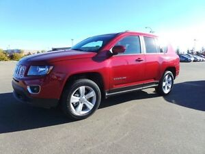 2016 Jeep Compass 4WD HIGH ALTITUDE Leather,  Heated Seats,  Sun