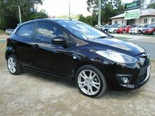 2008 Mazda 2 DE10Y1 Genki Maroon 4 Speed Automatic Hatchback Strathpine Pine Rivers Area Preview