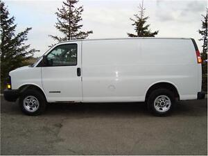 2005 GMC SAVANA 2500 CARGO VAN 4.8L 119K FOR ONLY$ 11,970.
