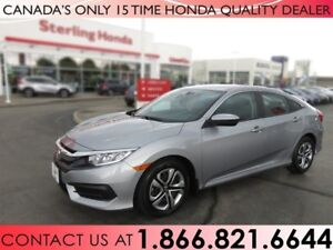 2017 Honda Civic LX | NO ACCIDENTS | 1 OWNER