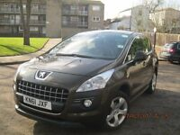 Peugeot 3008, 2011, diesel, automatic, economical
