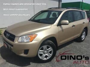 2009 Toyota RAV4 AWD | $94 Weekly $0 Down *OAC / Accident Free