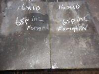 Roofing slates Reclaimed 16x10 slates 65p each