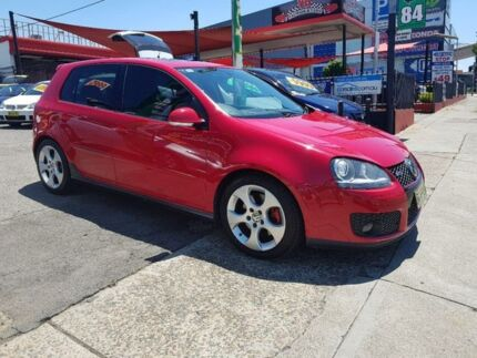 2006 Volkswagen Golf V MY07 GTI DSG Red 6 Speed Sports Automatic Dual Clutch Hatchback Homebush West Strathfield Area Preview