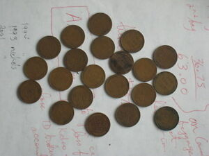 Lincoln Wheat Pennies From 1919 to 1947