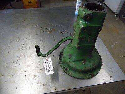 John Deere H Lh Axle Housing W Brake Pedal H419r Item 211