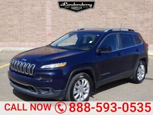 2016 Jeep Cherokee 4WD LIMITED Accident Free,  Navigation (GPS),