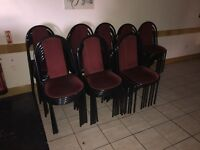 100 x cafe/restaurant chairs in good condition - Croydon