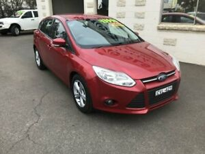 2014 Ford Focus LW MK2 Upgrade Trend Burgundy 6 Speed Automatic Hatchback Dubbo Dubbo Area Preview