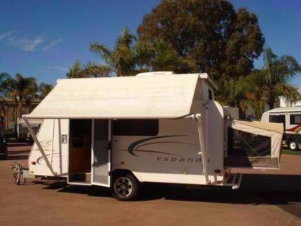JAYCO EXPANDA 14' POP TOP WITH SHOWER AND TOILET Bellevue Swan Area Preview