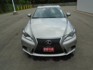 2016 Lexus IS 300 4dr AWD Sedan