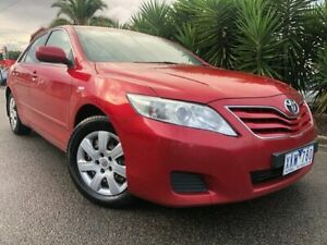2010 Toyota Camry ACV40R 09 Upgrade Altise Red 5 Speed Automatic Sedan Hoppers Crossing Wyndham Area Preview