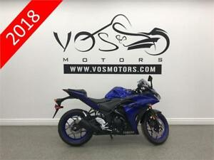 2018 Yamaha YZF-R3 ABS-Stock#V2917- No Payments For 1 Year**