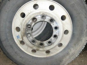 Aluminum Rims/Wheels for highway tractors 22.5 and 24.5