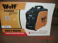 New Wolf Invertor Generator.
