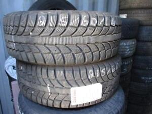 215/60 R16 ETERNITY WINTER WARRIOR USED SNOW TIRES (SET OF 2) - APPROX. 85% TREAD