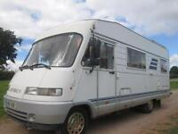 1995 LHD A-CLASS HYMER B644 SIX BERTH, REAR FIXED BED, MOTORHOME FOR SALE