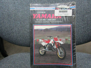 YAMAHA YZ125-490 CLYMER MANUAL