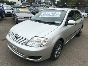 2005 Toyota Corolla ZZE122R Ascent Silver 4 Speed Automatic Sedan Lansvale Liverpool Area Preview