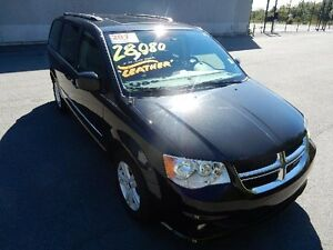 2015 DODGE GRAND CARAVAN CREW LEATHER MOONROOF