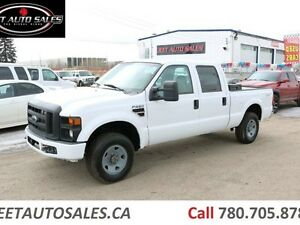 2008 Ford F-250 XL 4X4 SD Crew Cab Short Box 5.4L V8 Gas