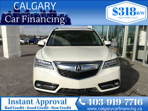 2016 Acura MDX Elite Package *Local, DVD, Navigation*