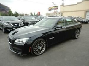 BMW 7 Series AWD 2014 750i xDrive MSport Heads Up Navi a vendre