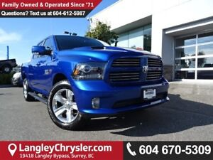 2016 RAM 1500 Sport *ACCIDENT FREE*ONE OWNER*LOCAL BC CAR*