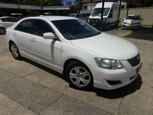 2007 Toyota Aurion GSV40R AT-X White 6 Speed Auto Sequential Sedan Sylvania Sutherland Area Preview