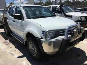 2014 Mitsubishi Triton MN MY15 GLX-R Double Cab White 5 Speed Sports Automatic Utility Edgewater Joondalup Area Preview