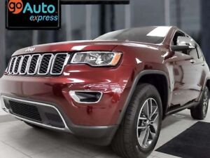 2018 Jeep Grand Cherokee Limited- Sunroof, heated power leather