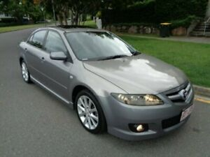 2006 Mazda 6 GG 05 Upgrade Luxury Sports Grey Metallic 6 Speed Manual Hatchback