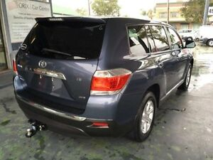 2013 Toyota Kluger GSU40R MY12 KX-R Blue 5 Speed Automatic Wagon Hamilton Newcastle Area Preview