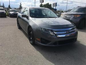 2012 Ford Fusion SEL leather heated seats bluetooth aux 4 cylend